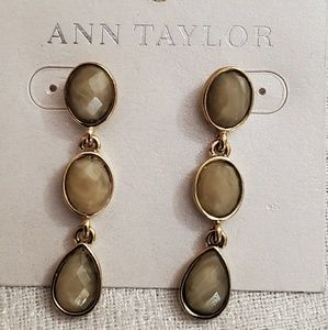 Ann Taylor Dangle Bead Earrings #490